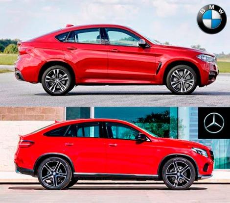 Mercedes-GLE-4Matic-vs-BMW-X6-xDrive